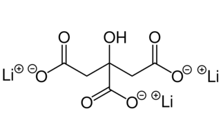 Lithiumcitrat