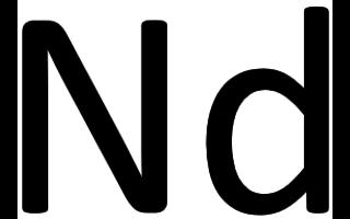 Neodimio