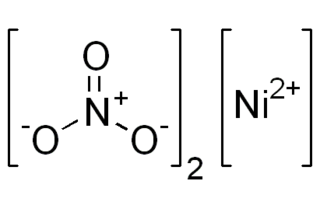Nitrato de níquel (II)
