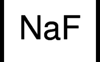 Fluoruro de sodio