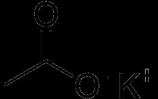 Acetato de potasio