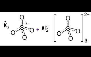 Potassium aluminium sulphate