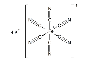 Hexacianoferrato de potasio