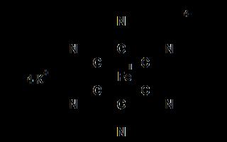 Kaliumhexacyanoferrat