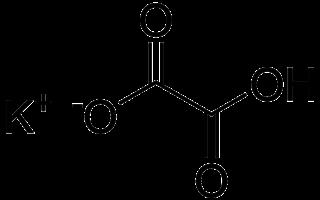 Oxalato de potasio