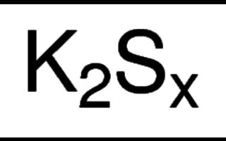 Potassium polysulphide