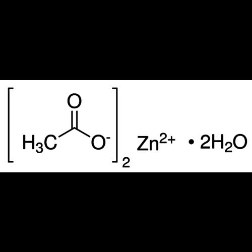 Acetato de zinc dihidrato ≥99%, Ph.Eur.