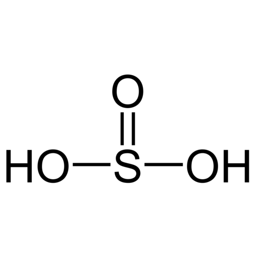 Ácido sulfuroso aprox.6% SO2 en H2O
