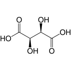 D (-) - Ácido tartárico ≥99%, para bioquímica