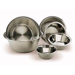 platos de acero inoxidable