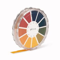 Papel indicador universal pH 1-11 y pH 1-14