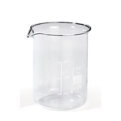 Becherglas niedrige Form