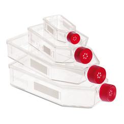 Frascos de cultivo celular Montaje de rosca de filtro