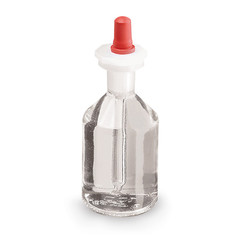 Druppelfles Met pipet Helder glas
