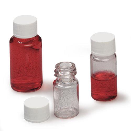 botellas de muestra