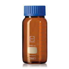 Weithalsflasche DURAN® GLS 80 Braunglas