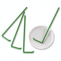 Espátula para placa de Petri en forma de L