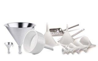Funnels / sieves