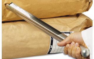 Samplers for powders/granulates