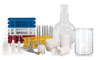 Laboratory glass, vessels, consumables
