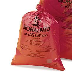 Disposal bags BIOHAZARD