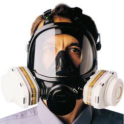 Respirador de máscara de cara completa