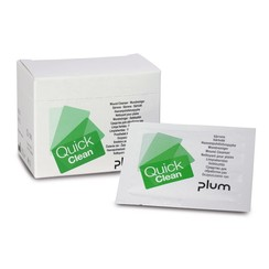 Refill packaging for QuickSafe first aid box Wound cleansing wipes QuickClean