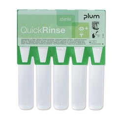 Refill packaging for QuickSafe first aid box Eye wash ampoules QuickRinse