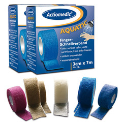 Snelverband Actiomedic® AQUATIC Rolgrootte: 3 cm x 7 m