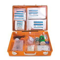 Erste-Hilfe-Koffer Spezial und Verätzung