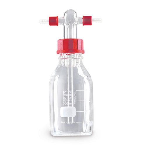 botella de lavado de gas