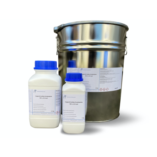 Koper(II)sulfaat pentahydraat 99+%, zeer zuiver