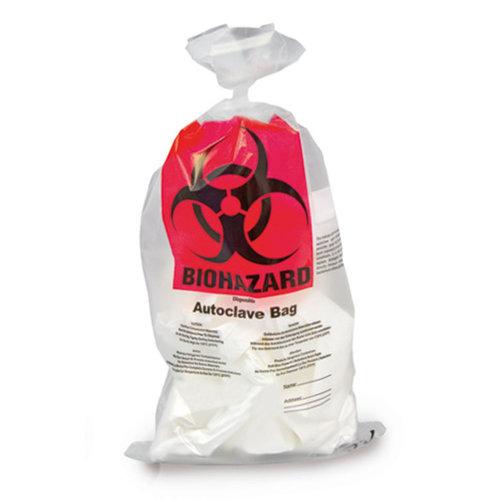 Bolsas de eliminación Biohazard PP, 50 μm