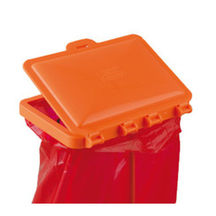 Accessories for disposal bags Table stand lid