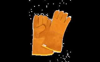 Hittebestendige handschoenen van leer