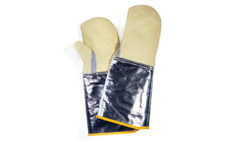 Aramid gloves up to 350°C