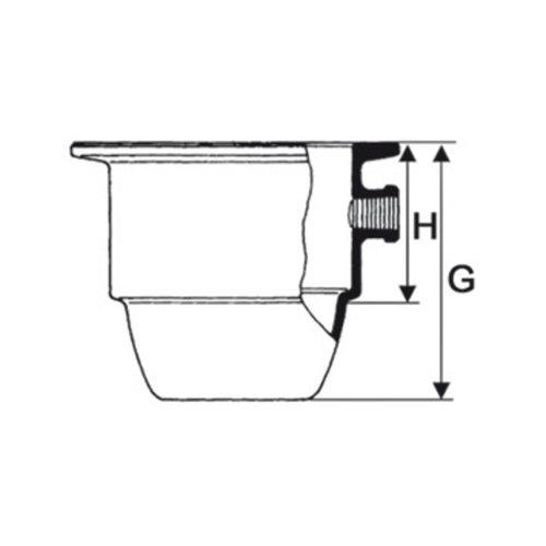 Exsiccator-onderdeel DURAN® Type Novus met NS-tubus 24/29