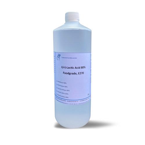 L(+)-Melkzuur 80%, foodgrade, E270