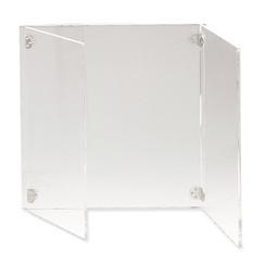 Schutzschild mit Seitenplatten