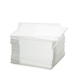 Deckgläser 22 x 22 mm, Dicke 0,13-0,17 mm. Verpackt pro 100 Stück