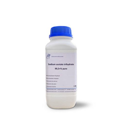 Acetato de sodio trihidrato 99,5 +% puro