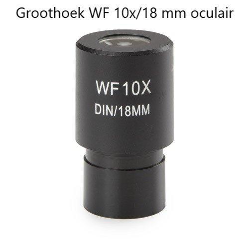 Groothoek WF 10x/18 mm micrometer oculair