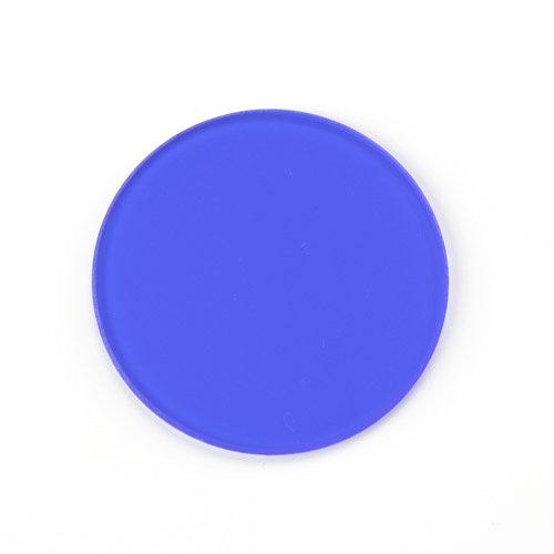 Blauwfilter, Ø 32 mm diameter