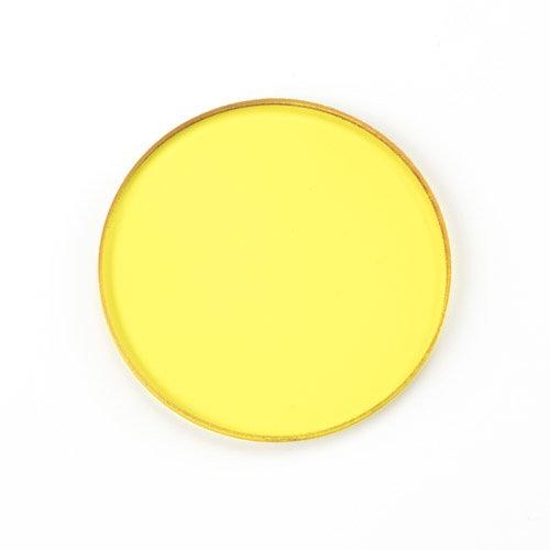 Gelber Filter Ø 32 mm Durchmesser