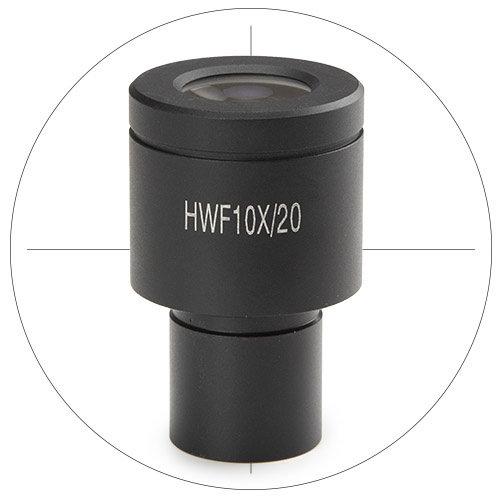 HWF 10x/20 mm oculair met kruisdraad voor bScope voor Ø 23,2 mm tubus