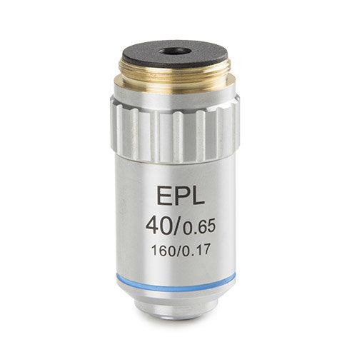 E-plan EPL S40x/0,65 objectief. Werkafstand 0,64 mm