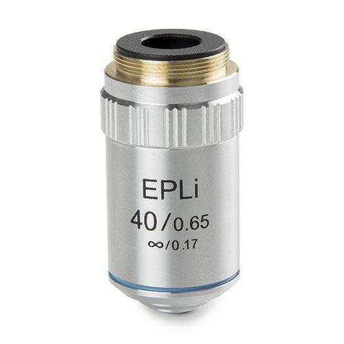 E-plan EPLi S40x/0,65 oneindig gecorrigeerd IOS objectief. Werkafstand 0,78 mm
