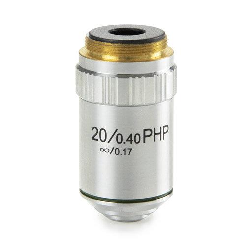 E-Plan fase EPLPHi 20x/0,40 oneindig gecorrigeerd IOS objectief. Werkafstand 2,61 mm