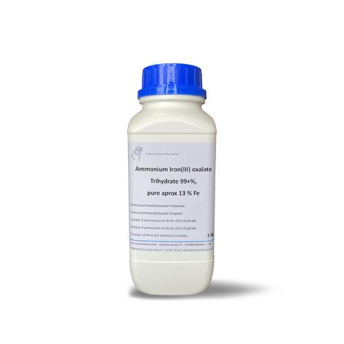 Ammoniumijzer(III)oxalaat trihydraat ≥99 %, pure, Approx 13% Fe