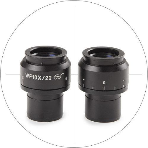 HWF 10x/22 mm oculair met kruisdraad